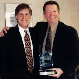 Dr. Tom Saul, right, with Jeffrey Loboski, MD,